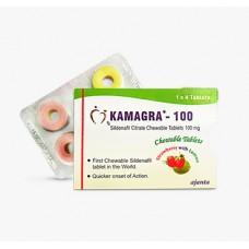 Kamagra Rágótabletta (Sildenafil 100 mg)