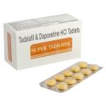 Extra Super Tadarise (40 mg Tadalafil + 60 mg Dapoxetine)